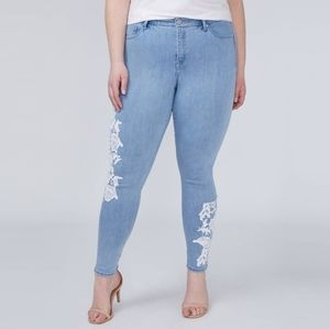 Super Stretch Skinny Ankle Jean - Crochet